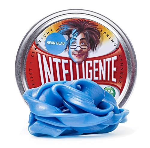 Intelligente Knete Leuchtet im Dunkeln (Neon Blau) BPA- und glutenfrei