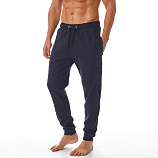 Iron Mountain Mens Reclaimed Yarn Eco Friendly Anti Pil Flexible Comfortable Jog Sweat Pant Trouser, Navy Blue, 4X-Large