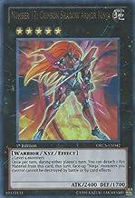 ORCS-EN084 White Dragon Ninja Secret Rare New Order of Chaos Yugioh
