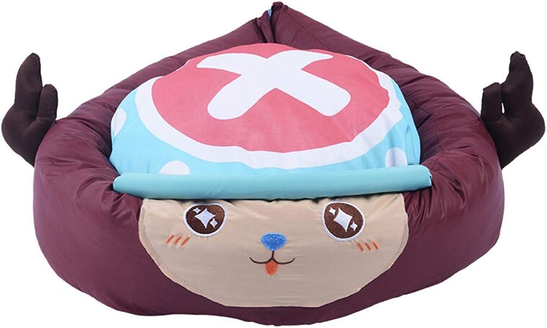 Qi Peng Pet Nestpet Supplies Dog Cat Autumn and Winter Kennel Dog House Cat House Pet Nest Pet Supplies Pet Bed (color   G, Size   L55CMH16CM)