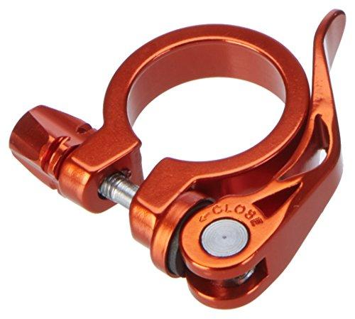 XLC Unisex– Erwachsene Sattelstützklemmring Sattelstütz-Klemmring PC-L04, Orange, One Size