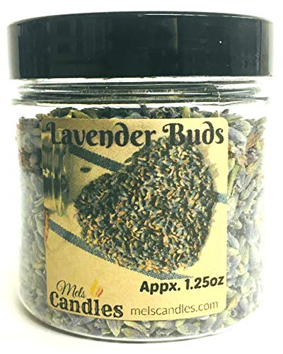 4 Ounce Container of Lavender Buds- Perfect for DIY Products, Soap, etc