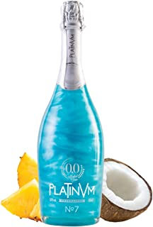 espumoso sin alcohol Platinvm 0'0 Nº7 de Piña y Coco 75cl