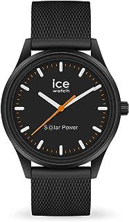 Ice-Watch - Ice Solar Power Rock Mesh - Montre Noire Mixte avec Bracelet en Silicone - 018392 (Medium)