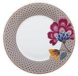 PIP STUDIO - Piatto da dessert Flo Fantasy/Bloom Kaki, 21 cm