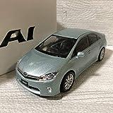 1/24 トヨタ SAI サイ 前期 カラーサンプル 非売品 ミニカー アクアマイカメタリック