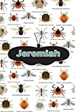 Jeremiah: Bug Insect Comic Book Notebook Journal book 120 pages 6'x9'