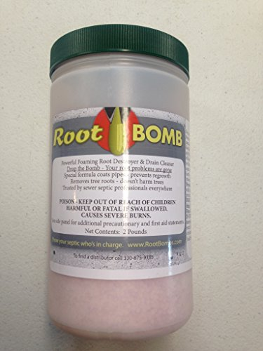 Root Bomb Foaming Root Killer- Two Pound Container - Sewers & Septics