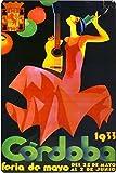Art Escudellers Poster, FERIA DE CORDOBA 1933, Stück: 1