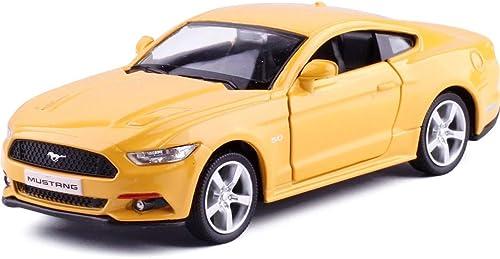 Con precio barato para obtener la mejor marca. LONGren 1 36 Escala Modelo Diecast Car Toy, Modelo Modelo Modelo Kit Kit de construcción Modelo   5.1x2.2x1.6inches (Color   amarillo)  precios ultra bajos
