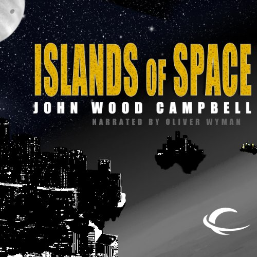 Islands of Space audiobook cover art