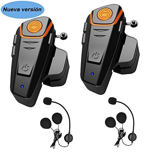Auriculares Bluetooth para Motocicleta, 1000 m, con Sistema