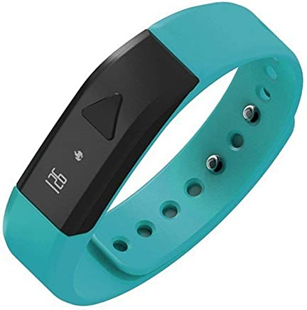 Megadream Fitness Tracker Wristband, Bluetooth 4.0 Smart Activity Bracelet with OLED, Pedometer, Message, Call Id Reminder, Wrist Bands, Sleep Quality, App Health Sport Monitoring for iOS & Android