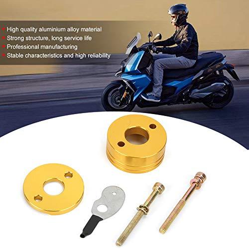 Filtro de aire adaptador estrangulador Stack, fuerte entrada filtro de aire piezas de reparación con aleación de aluminio de alta calidad para motocicleta de 33cc 43cc 49ccscooter