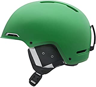 Giro Battle Snow Helmet (Matte Green, Large)