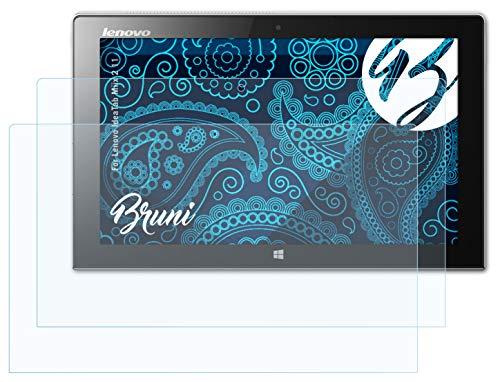 Bruni Schutzfolie kompatibel mit Lenovo IdeaTab Miix 2 11 Folie, glasklare Bildschirmschutzfolie (2X)