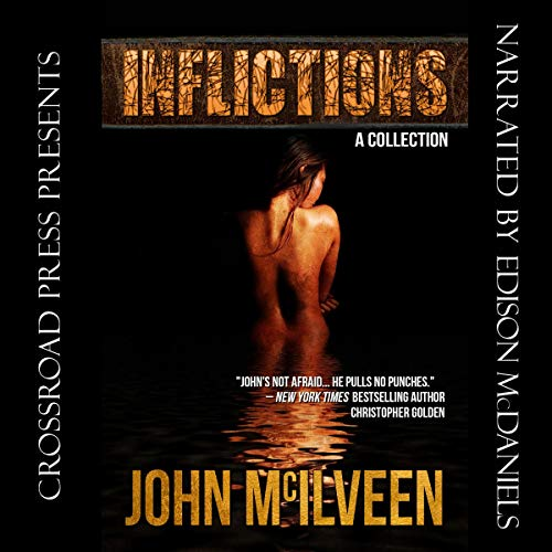 Inflictions audiobook cover art