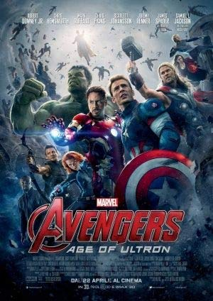 The Avengers Age of Ultron, Poster, 30 x 43 cm