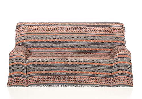 Cardenal Textil Azteca Foulard Multiusos, Marron, 230x290 cm