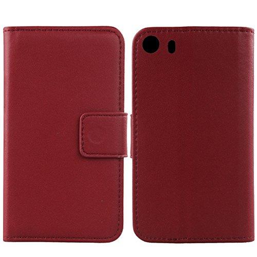 Gukas Design Echt Leder Tasche Für Hisense C1 5.5