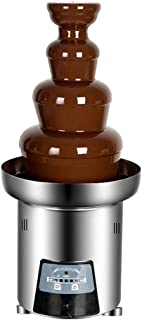 Chocolate Fountain Machine Waterfall Machine 4-Tier Commercial Fountain Hot Pot Machine Melting Chocolate Tower