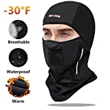SGODDE Balaclava Ski Mask- Windproof Balaclava for Men Women Bike Face Mask Bicycle Balaclavas Cold Weather Face Mask in Winter for Skiing Snowboarding Motorcycling