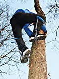 HUAWELL Tree Climber Set,Climbing Spikes Includes Cushioned Pads, Leg Irons, Stirrups