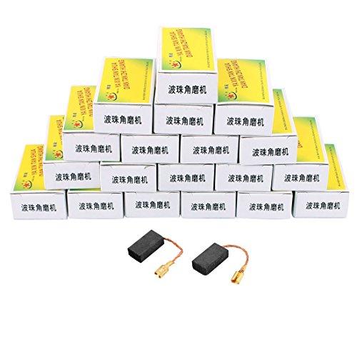 Aexit 20 Paare elektrische 15.5mm x 8mm x 5mm Motor Kohlebürsten für Winkelschleifer (78ccac09459060e4c2606a912f261d50)
