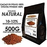 Cacao Venezuela Delta - Cacao en Polvo Puro 100% · NATURAL · Desgrasado 10-12% · 500g