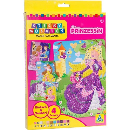 Orb Factory 621002 - Sticky Mosaics Funkelnde Prinzessin