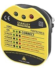 Stanley Fmht82569-6 Tester voor wandcontactdoos, serie FatMax – spanning 230 V – leds voor verschillende informatie