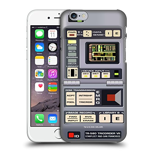 Head Case Designs Offizielle Star Trek Tricorder Gadgets TNG Harte Rueckseiten Huelle kompatibel mit Apple iPhone 6 / iPhone 6s