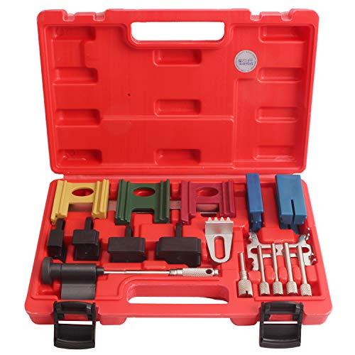 CCLIFE Universal Motor Einstellwerkzeug Zahnriemen Werkzeug Nockenwellen Kurbelwelle Arretierwerkzeug
