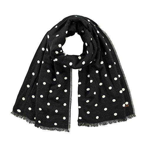 Barts Damen Garonne Scarf Schal, schwarz (nero con pois bianchi), UNI