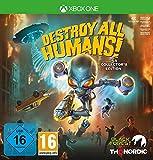 Le jeu physique Destroy All Humans! en édition standard Un packaging de qualité premium La figurine « Crypto'N'Cow » (23 cm) Le jouet anti-stress avec les yeux qui sortent par les trous Le porte-clés Crypto 6 lithographies sur l'univers du jeu