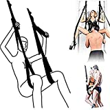 Furniture Sēx Swing Chairs Hot Funny Hanging Pleasure Love Swing for Couples Adūlt Sēx Products Black