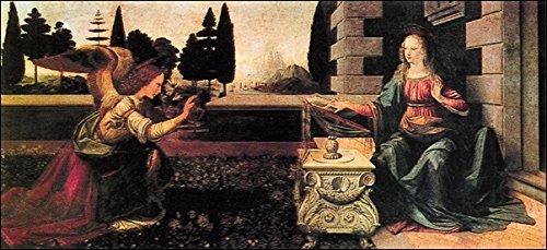 Leonardo da Vinci última Cena la impresión en offset en papel gr. cm.50 cod.31454 300 x 100