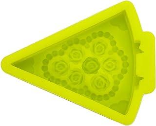《モモミュゼット》シリコンモールド カメリア ケーキ レジン 石膏 アロマストーン 手作り 石鹸 キャンドル 樹脂 粘土 型 抜き型 MD-110299