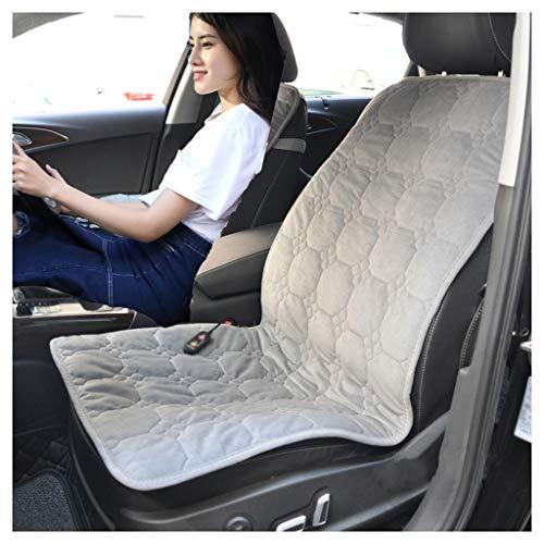 OCYE verwarmingskussen voor auto, 12 V, met thermoregulering, timer, 50 × 110 cm