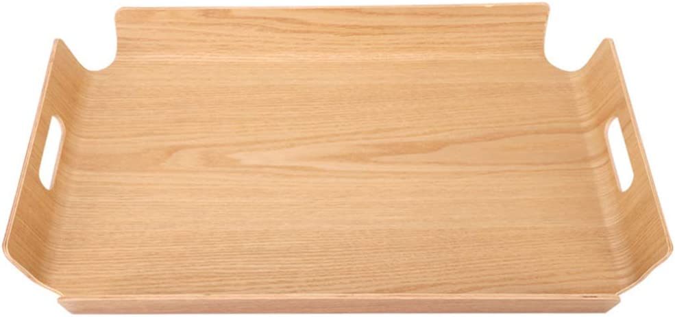Cabilock Bread Ranking TOP3 Serving Tray Bamboo Handles Woo Manufacturer direct delivery with
