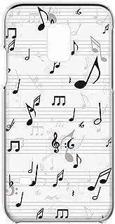 Galaxy S5 SC-04F・SCL23 対応 ハードケース スマホケース 音符・ブラック 音楽 ポップ ペイント SAMSUNG サムスン ギャラクシー エスファイブ docomo au スマホカバー 携帯ケース 携帯カバー FFANY ...