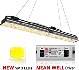MARS HYDRO SP 250 Led Grow Lights Full Spectrum for Indoor Plants Veg and Flower Hydroponic Greenhouse Water Proof Dimmable Commercial LED Growing Lamps 2x4ft Two for 4x4ft Coverage