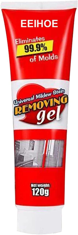 2 Pcs Household Anti-Odor Mold Remover Gel,Household Mold Miracle Remover Gel,Household Miracle Deep Down Wall Remover Cleaner Caulk Gel, Household Mold Remover Gel Kitchen and Bathroom,Anti-Mold Gel