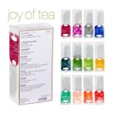 Ronnefeldt Joy of Tea Box, Tee Probierset / Tee Geschenk 'Twelve Delights', 33,8 g