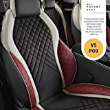 Vacant seat Premium naapa Leather Bucket seat Covers -VS- M XUV 300 W8