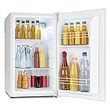 Klarstein MKS-6 - Minibar, Mini-réfrigérateur, Réfrigérateur à boissons, A, Volume: 66 Litres, Fonctionnement silencieux, 30 dB, env. 43 x 72,5 x 51,5 cm (LxHxP), 2 étagères, Blanc