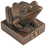 Culture Spot Egyptian Frog Goddess Heket Kek Statue with Bronze Finish   Ancient Treasures Collection   Indoor Placement   Durable Construction   5 Inches Tall
