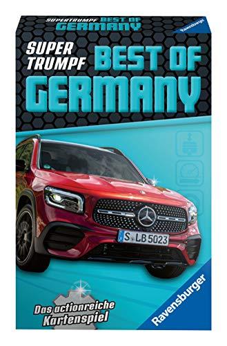 Ravensburger Kinderkartenspiele 20688 - Kartenspiel, Supertrumpf Best of Germany, Quartett und Trumpf-Spiel für Technik-Fans ab 7 Jahren