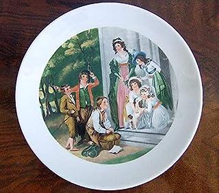 BAREUTHER Bavarian Porcelain Display Plate, Germany