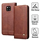 REAL-EAGLE Huawei Mate 20 Pro Leather Case, Huawei Mate 20